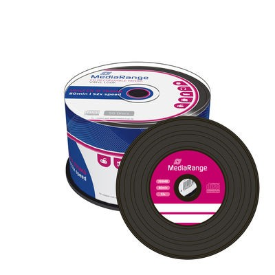 CD-R  Mediarange VINYL 52x 700MB 80min 50cake MR225