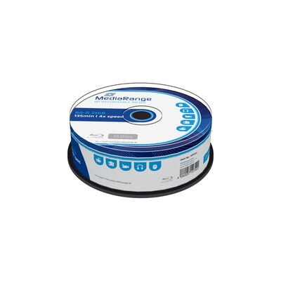 Blu-ray Mediarange 25GB 4x 25cake MR503