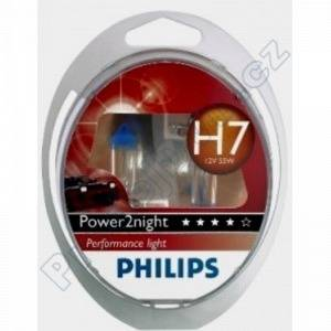 Autožárovky Philips Power2night H7 GT150