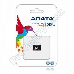 Secure Digital Card Micro 32GB A-data class 4