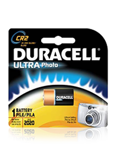 Duracell ultra M3 DL CR2 - 1 ks