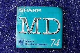 Minidisc SHARP MD-R 74