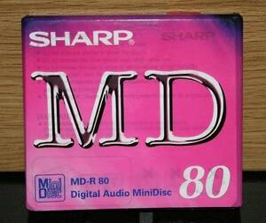 Minidisc SHARP MD-R 80