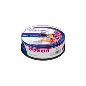 CD-R  Mediarange AUDIO 52x 700MB 80min 25 cake MR223