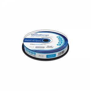 Blu-ray Mediarange 50GB 6x 10cake BD-R DL Printable MR509