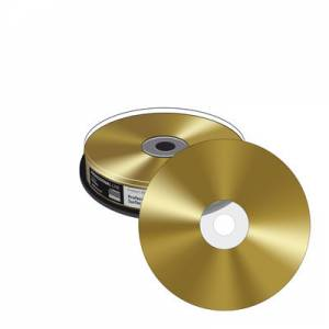 CD-R Mediarange PL 700MB GOLD PLATED 10cake MRPL510