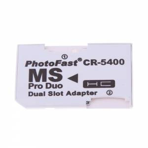 Adapter MS PRO DUO 2x Micro SDHC DUAL SLOT