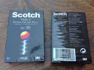 VHS-C SCOTCH EC-30