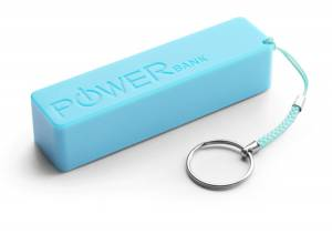 Power Bank EXTREME QUARK XMP101B Li-ion, 5V, 2000mAh 1xkonektor, modrý