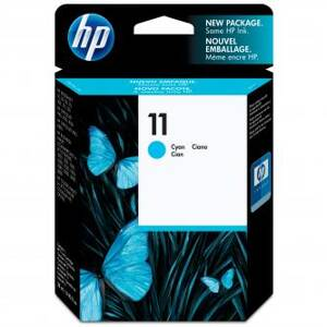 HP originální ink C4836AE, HP 11, cyan, 1750str., 28ml, HP Business InkJet 2xxx, DesignJet 100, 10PS, 20PS