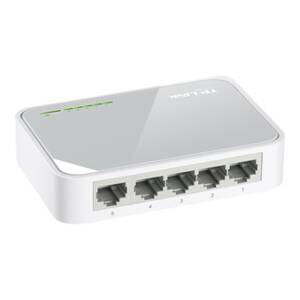 TP-LINK, TL-SF1005D, mini switch, LAN, 10/100Mbps, 5 portový