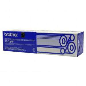 Brother originální fólie do faxu PC72, 2*140s, Brother Fax T-74, T-76, T-78, T-84, T-86, T-96