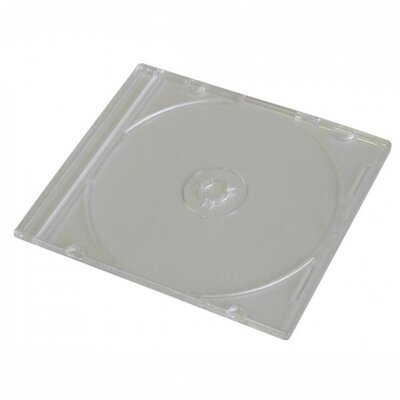 Obal 1CD slim čirý tray 5,2mm - 200-pack