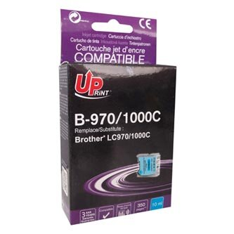 UPrint kompatibilní ink s LC-1000C, cyan, 10ml, B-970C, pro Brother DCP-330C, 540CN, 130C, MFC-240C, 440CN