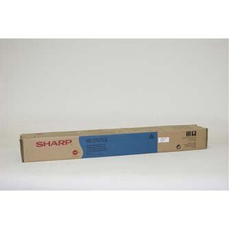 Sharp originální toner MX-27GTCA, cyan, 15000str., Sharp MX 2300N, 2700N